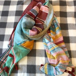 *NWT* Women's Loft Striped Scarf